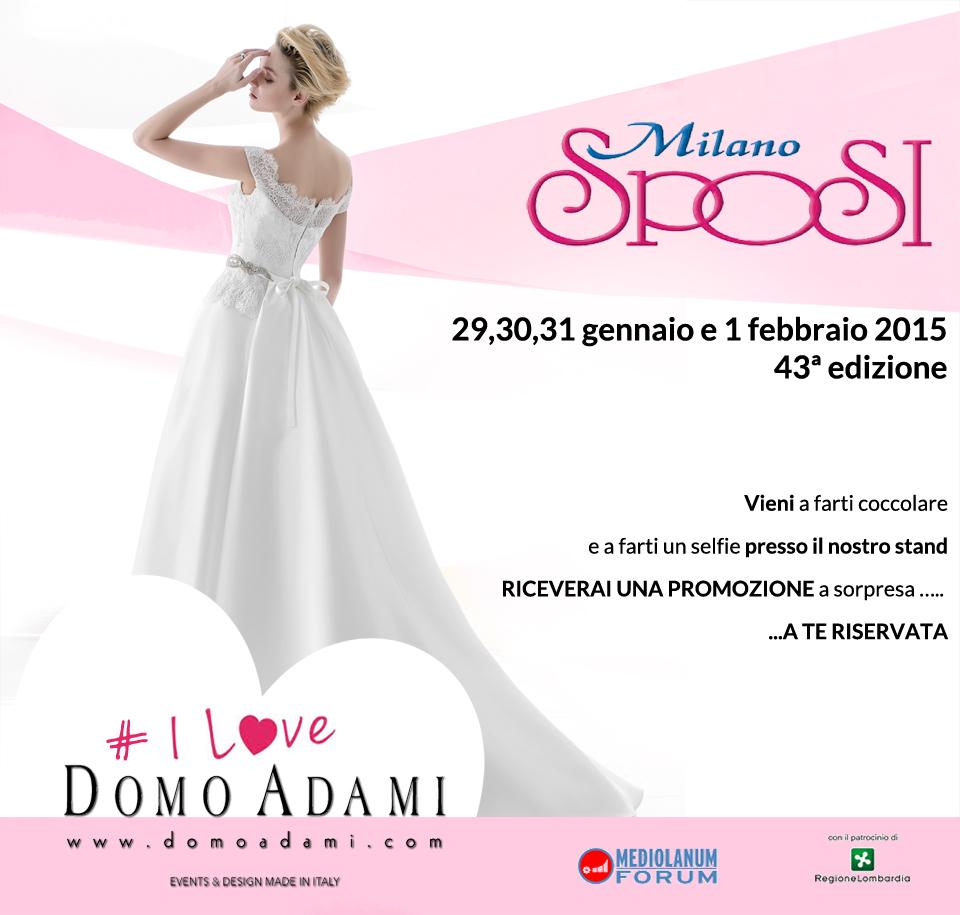 b605f9501911 DOMO ADAMI BRIDAL COUTURE MADE IN ITALY A MILANO SPOSI - FORUM DI ASSAGO  (MI)